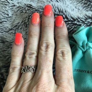 Tiffany & Co Loving Heart Band Ring
